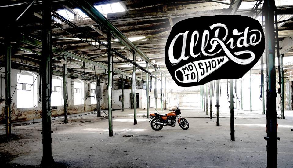 All Ride Moto Show 2016 již tento víkend!!