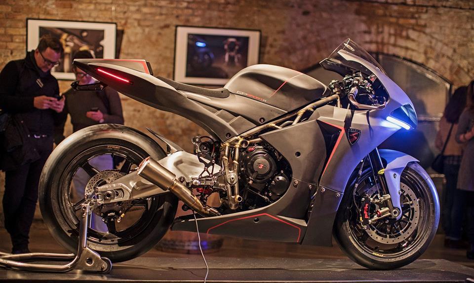 Další britský ultimativní supersport: Spirit Motorcycles GP Sport