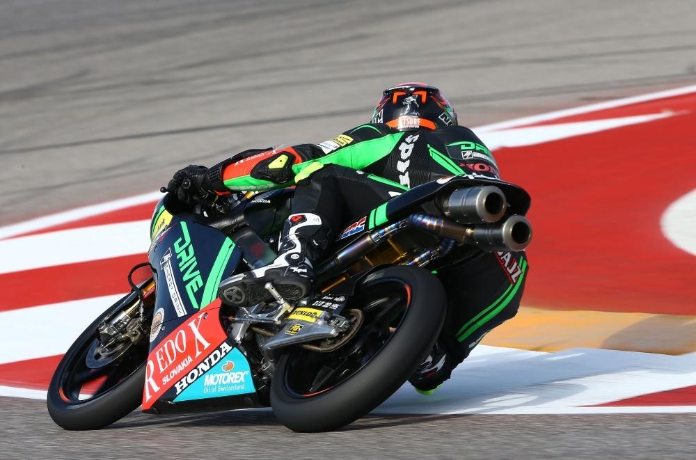 Moto3: Kuba Kornfeil v kvalifikaci pro Austin GP  čtvrtý