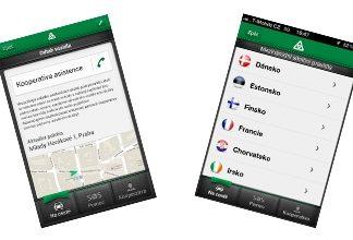Mobilní aplikace od Kooperativy na cesty
