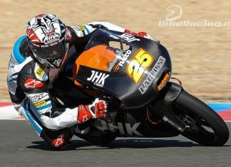 Test Moto3 Valencie – pořadí druhého dne