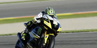 MotoGP testy ve Valencii