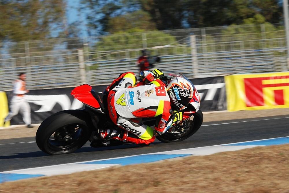 Ondra Ježek zklamán po závodě v Jerezu