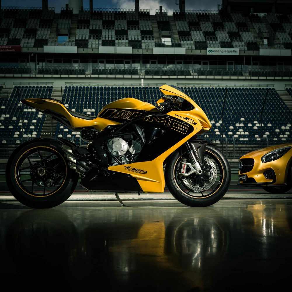 MV Agusta bude vystavovat na Motocyklu