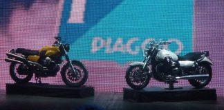 Špionážní fotografie – Moto Guzzi V7 Scrambler a nová California