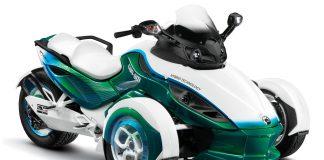Can-Am Spyder Hybrid ve vývoji