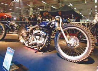 Český úspěch:  Bušovi se dařilo na světové show Custombike 2011