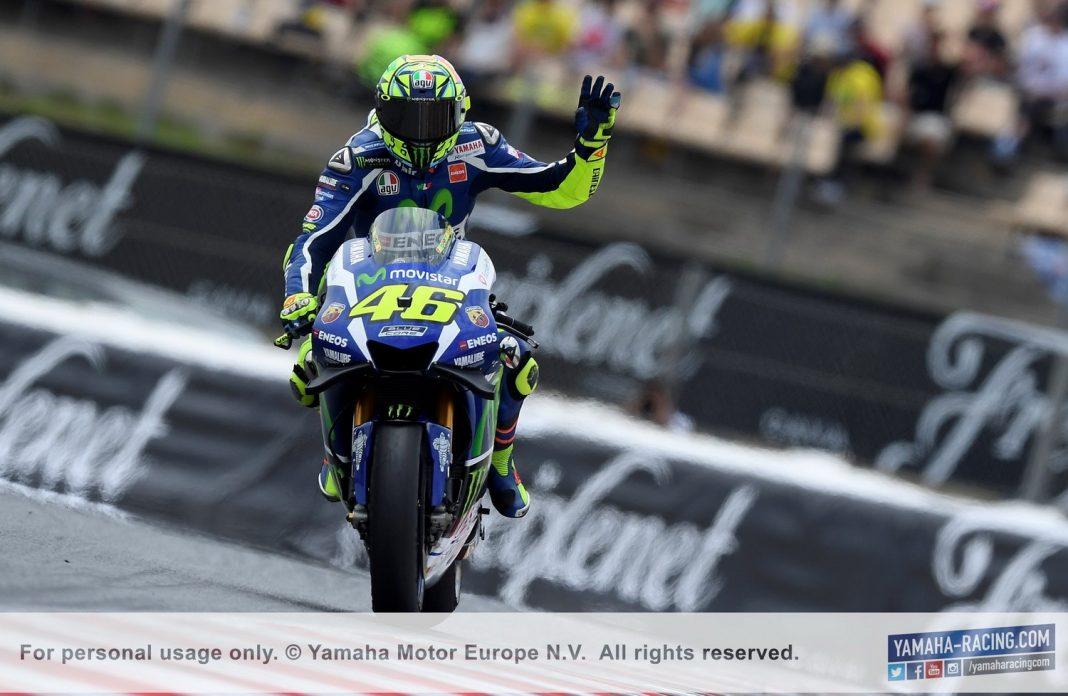 MotoGP Barcelona: Valentino Rossi si poradil s Marquezem a vyhrál