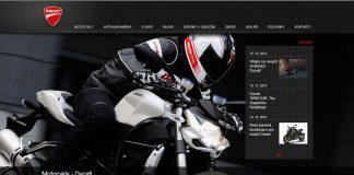 Ducati Czech má nový web