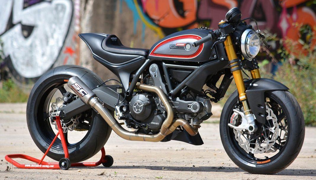 Ducati Scrambler od WalzWerk Racing