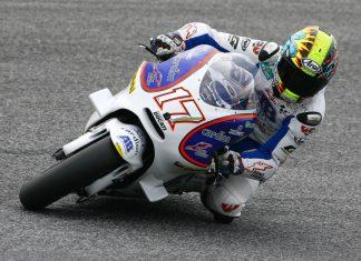Karel Abraham závod v Estorilu po pádu nedokončil
