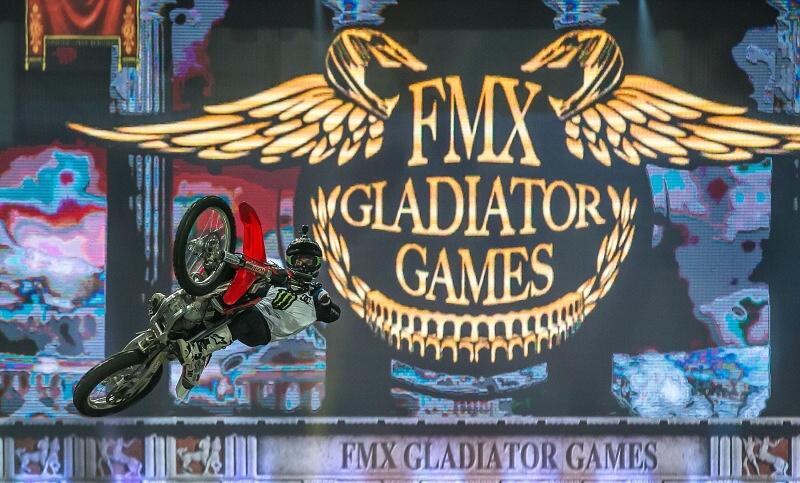 Náš tip: FMX Gladiator Games letos 19.listopadu v O2 aréně