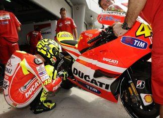Testuje Rossi v bolestech?