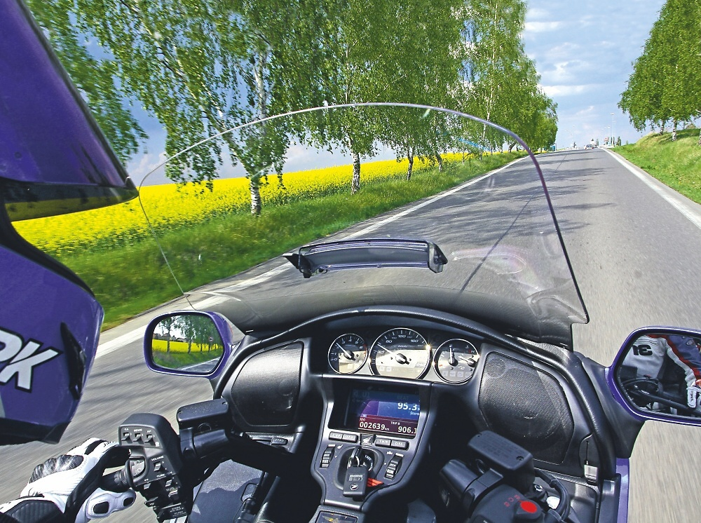 MH Test: Král luxusu Honda Goldwing