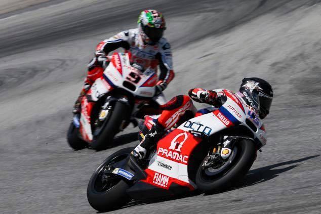 MotoGP test Sepang: překvapení druhého dne má jméno Danillo Petrucci