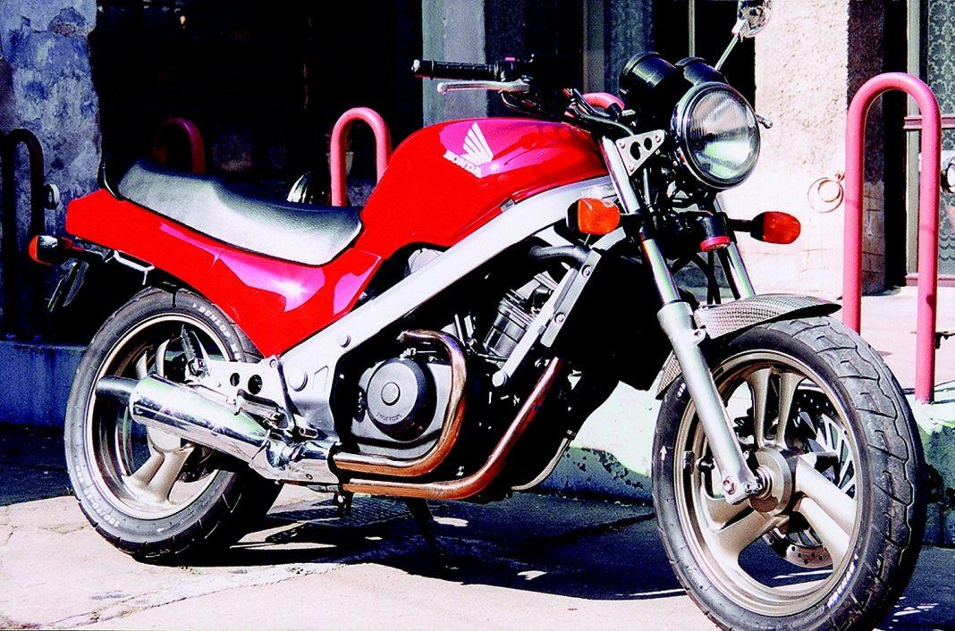 Tvrdohlavá věc: Honda NTV 650