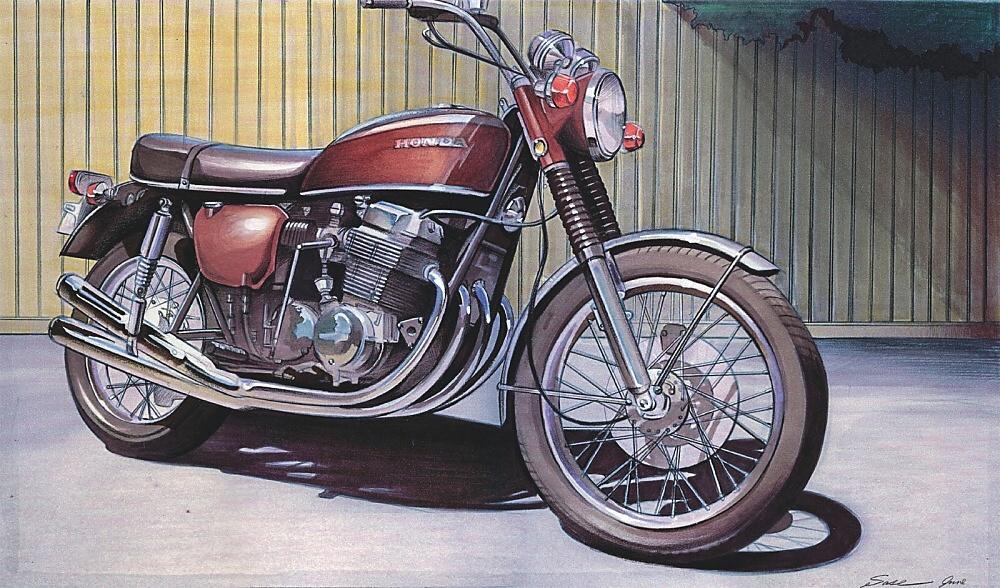 Legendární Honda CB750