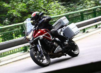 Motorky na dovolenou: HONDA CROSSTOURER