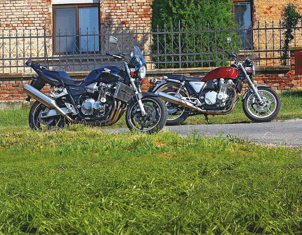 TEST: Honda CB1300 (2005) vs. Honda CB1100 (2013)