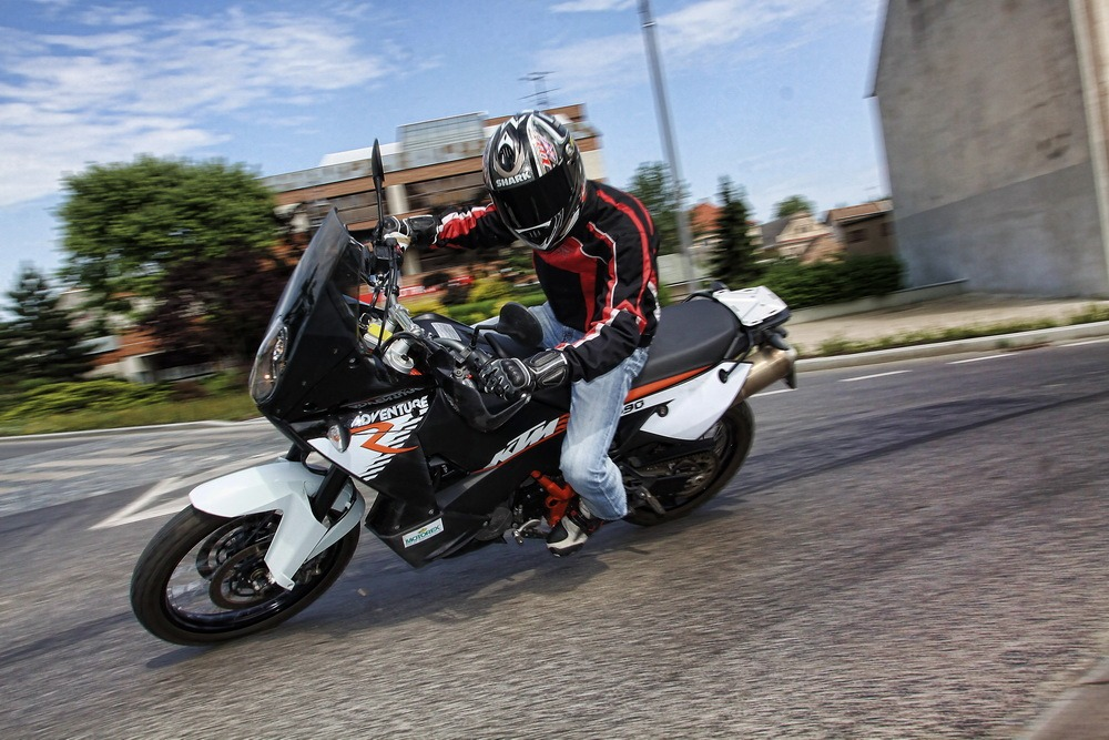 First ride - KTM 990 ADVENTURE R