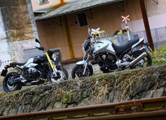 RETRO TEST: Yamaha Bulldog vs. BMW R nineT