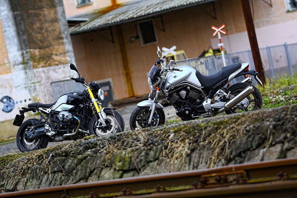 RETRO TEST: Yamaha Bulldog vs. BMW R nineT