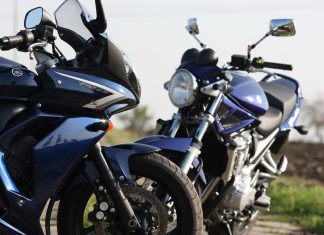 Suzuki Bandit vs. Yamaha FZ6 Fazer