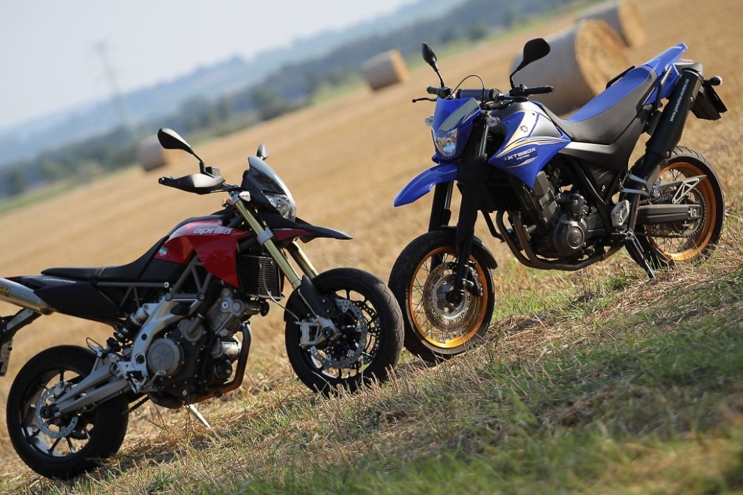 Srovnávací test – Aprilia Dorsoduro vs. Yamaha XT660X