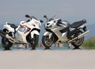 Kawasaki ZZR1400 vs. Suzuki Hayabusa