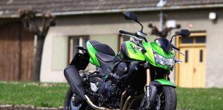 První jízda: Kawasaki Z750R + video