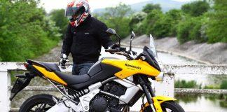First ride - Kawasaki Versys
