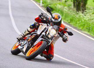První jízda - KTM 390 Duke