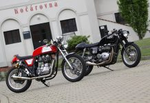 Royal Enfield Continental 500GT vs. Triumph Thruxton