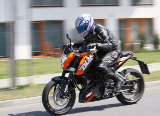 KTM 125 Duke – na první dotek