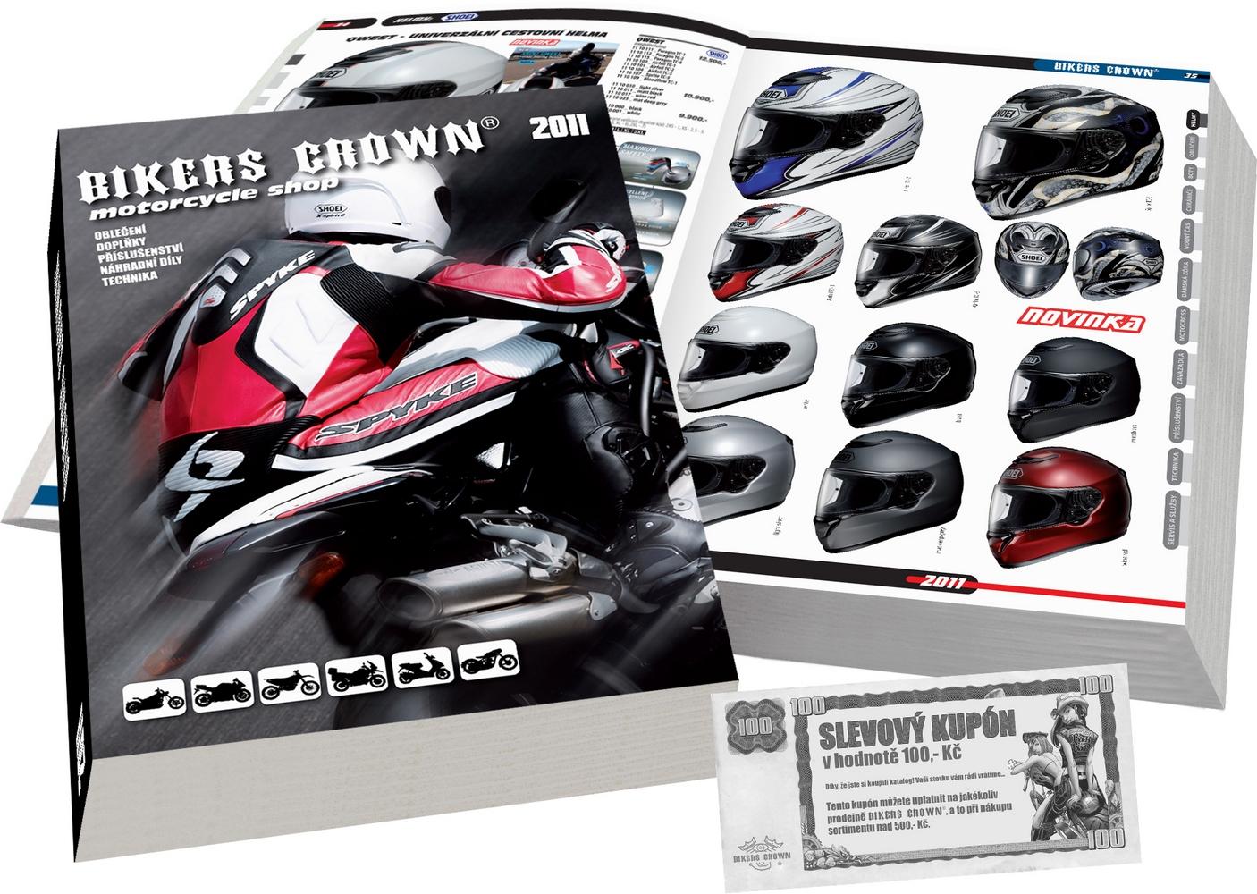 Bikers Crown má nový katalog  2f32184739