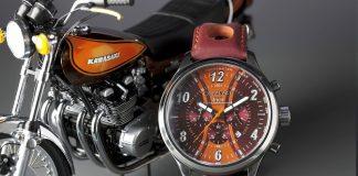 Limitovaná edice hodinek Kawasaki Z – 40. výročí