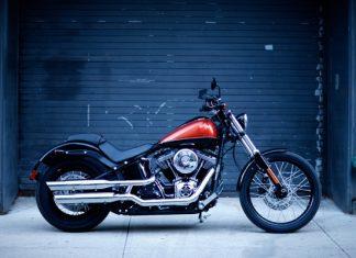 Novinka Harley-Davidson Softail Blackline