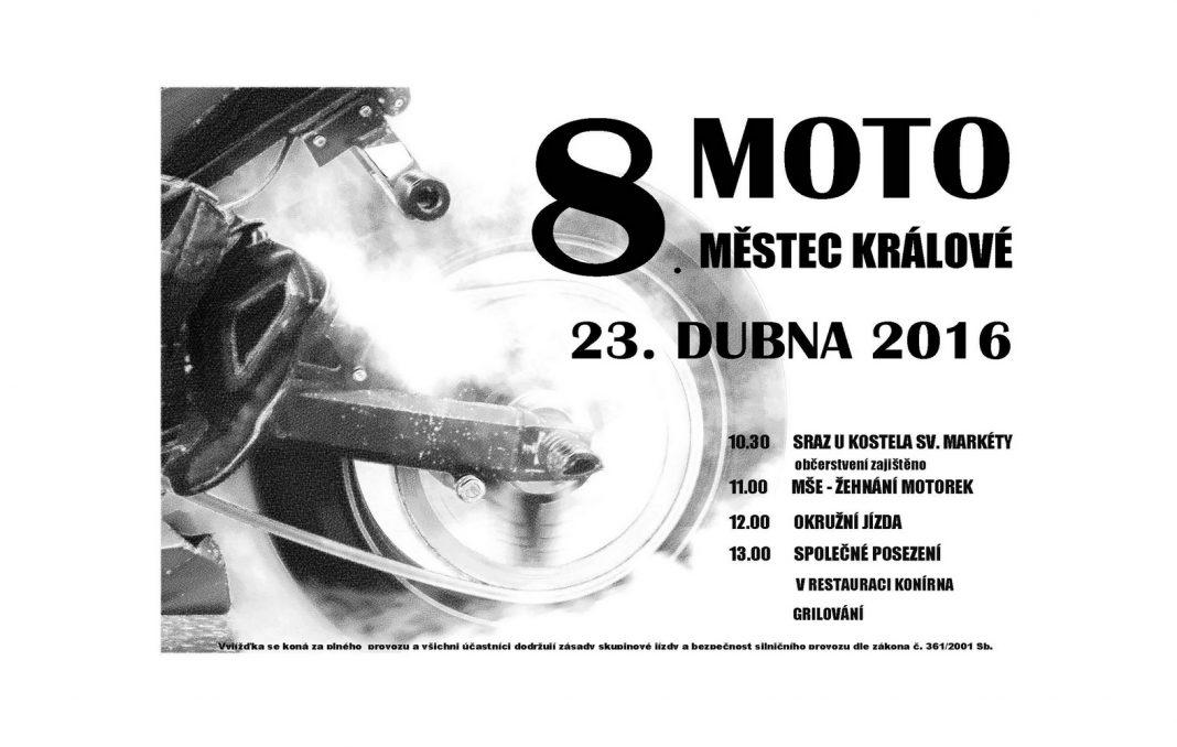 Náš tip: Otevření sezony a žehnání motorek v Městci Králové