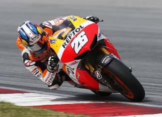 SEPANG: Druhý test MotoGP dnes ovlivnil déšť