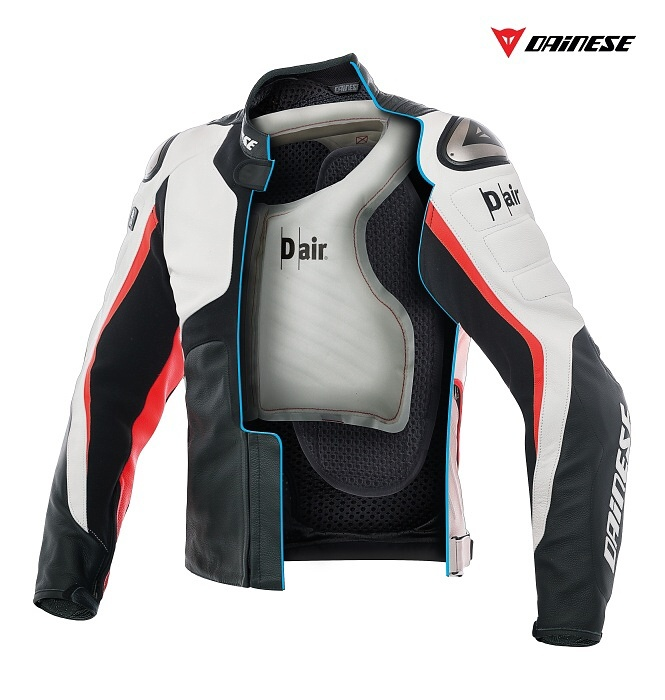 Nepřehlédněte: D-Air bunda Dainese Misano 1000