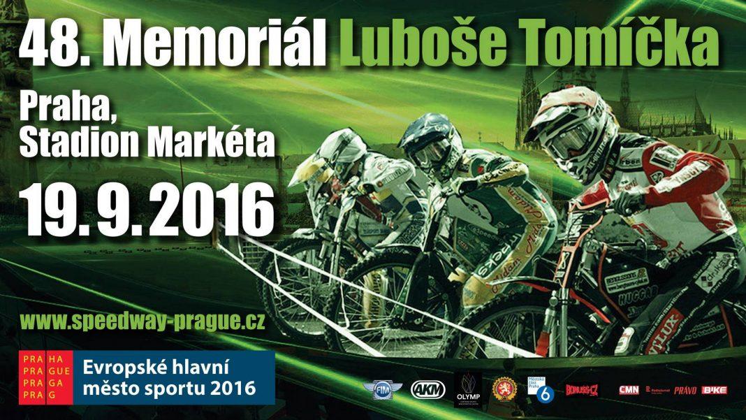 Pozvánka: 48. ročník Memoriálu Luboše Tomíčka