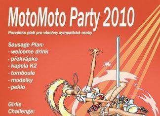MotoMoto Party 2010 už tuto sobotu
