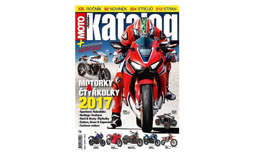 Motohouse Katalog motorek a čtyřkolek 2017 – redakce hlásí hotovo