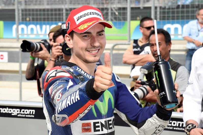 MotoGP Aragon: Jorge Lorenzo se přiblížil titulu na 14 bodů