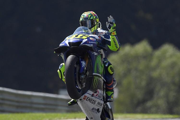 MotoGP: Lorenzo a Rossi před Brnem