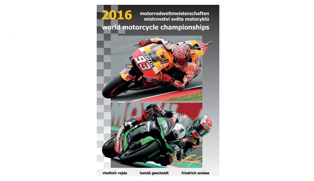 Vychází kniha: Mistrovství světa motocyklů 2016