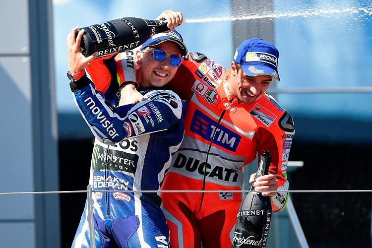 MotoGP: Ducati oslavila v Rakousku double