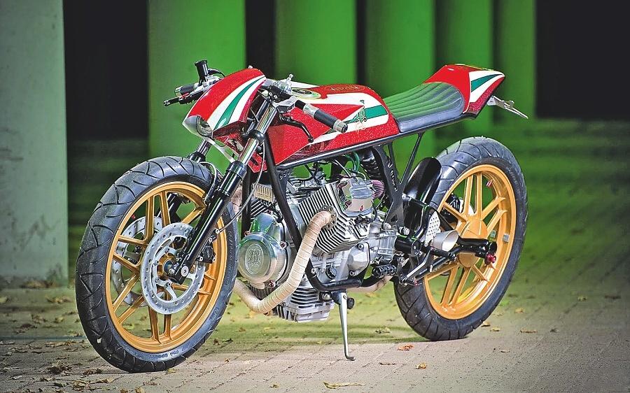 Přestavba: RNO Moto Guzzi V50