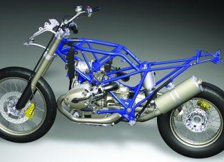 Technika motocyklových rámů