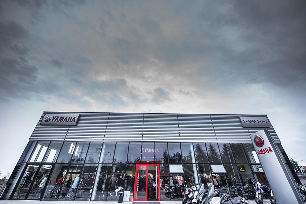 Yamaha Pemm má nový showroom